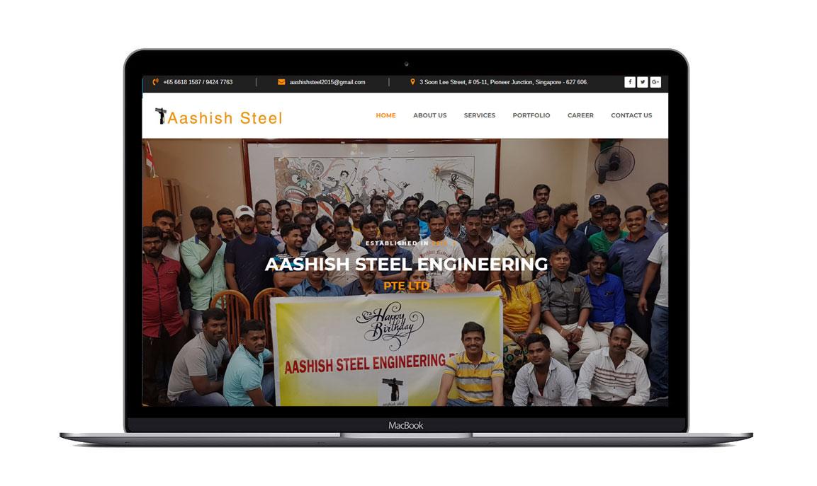 aashish-steel