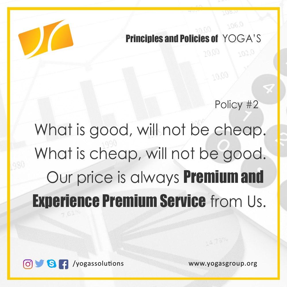 Policies and Principle 2