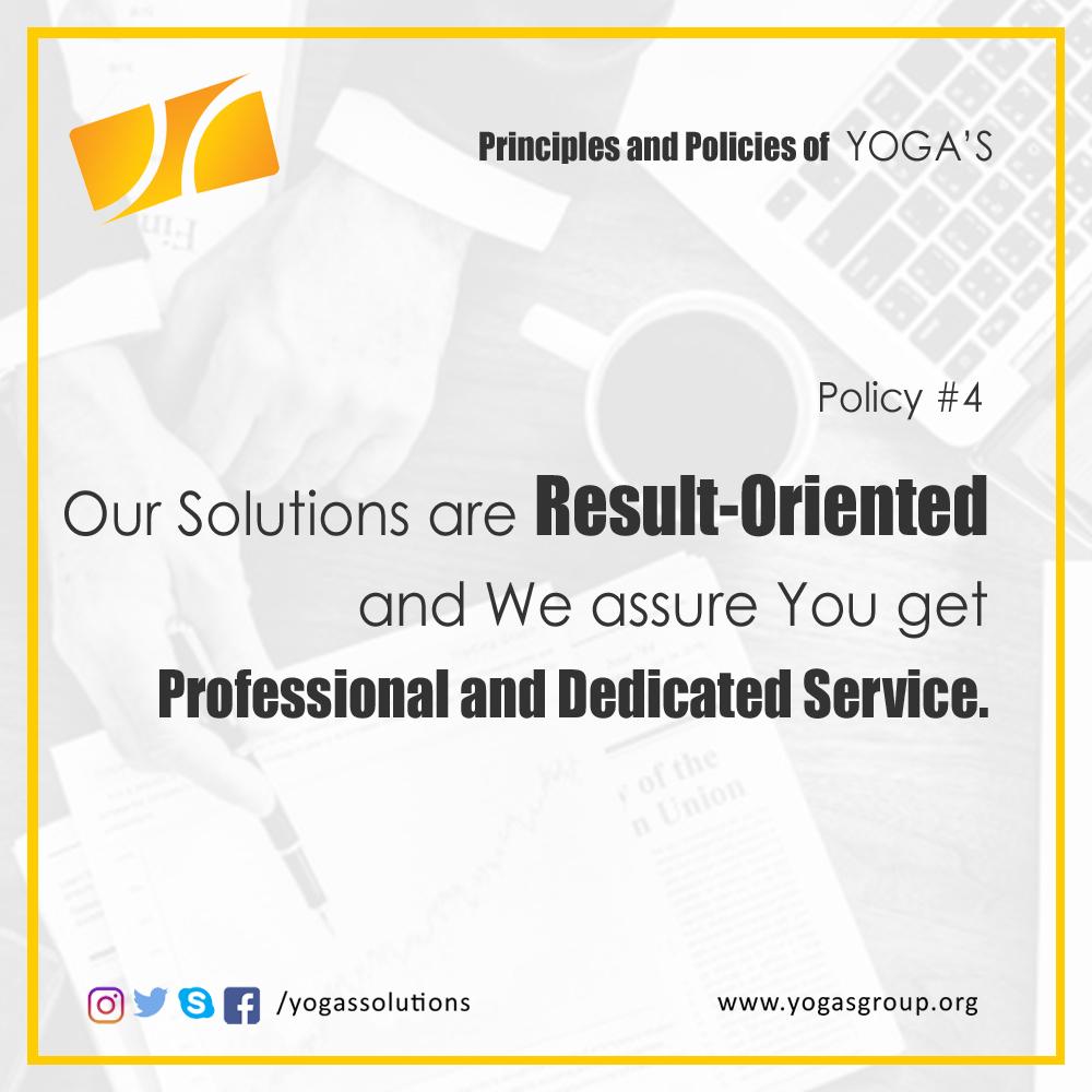 Policies and Principle 4