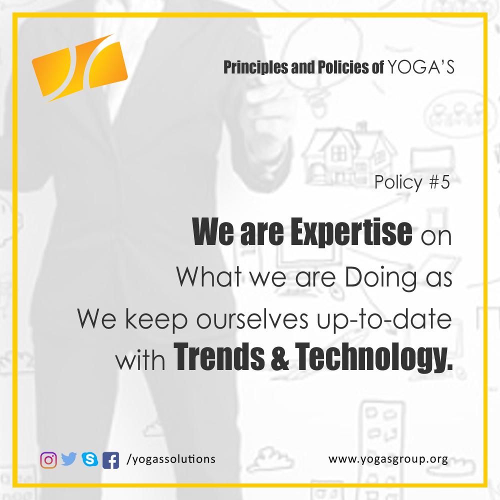 Policies and Principle 5