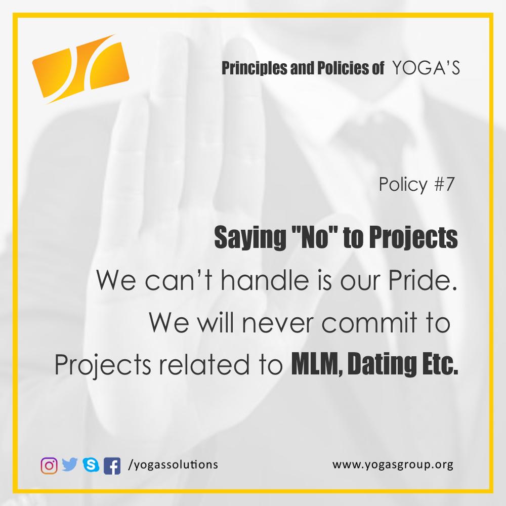 Policies and Principle 7